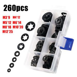280x Innenzahn Starlock Sicherungsscheiben Klemmscheiben M3-M12 Sortiment【DE】