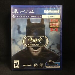 91621898c Batman  Arkham VR (PS4 VR) BRAND NEW   Region Free 883929560219