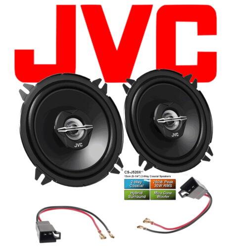 ~ JVC altavoces para Twingo I 1998-2008 puertas delante 2-caminos coaxial 250 vatios