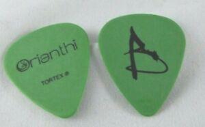 Alice-Cooper-Orianthi-tour-guitar-pick-Rare-GREEN