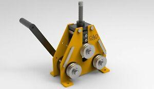 Metric plans - Manual pipe bending. Plans Drawings. DXF. PDF