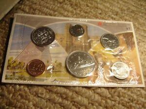 1983-Canada-PL-Set-6-Coins-Cent-to-1-MINT-UNC