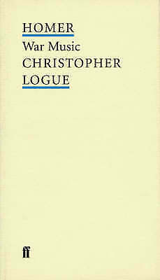 1 of 1 - WAR MUSIC (POET TO POET: AN ESSENTIAL CHOICE OF CLASSIC VERSE), New, Homer.: Boo