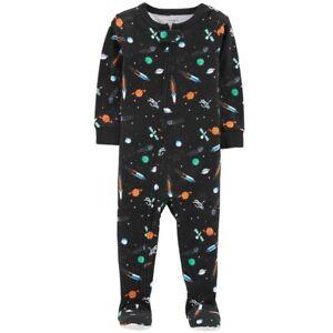 Fisher-Price Baby Boys Sleeper Sleepwear 6M White All Over Print