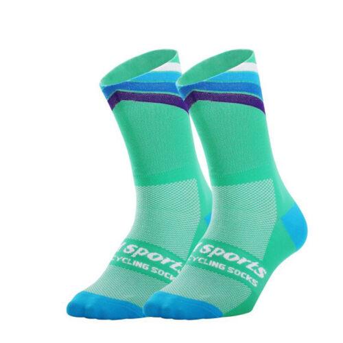 Men Women Cycling Socks Biking Road Bicycle Bike Socks  Compression Sport Socks