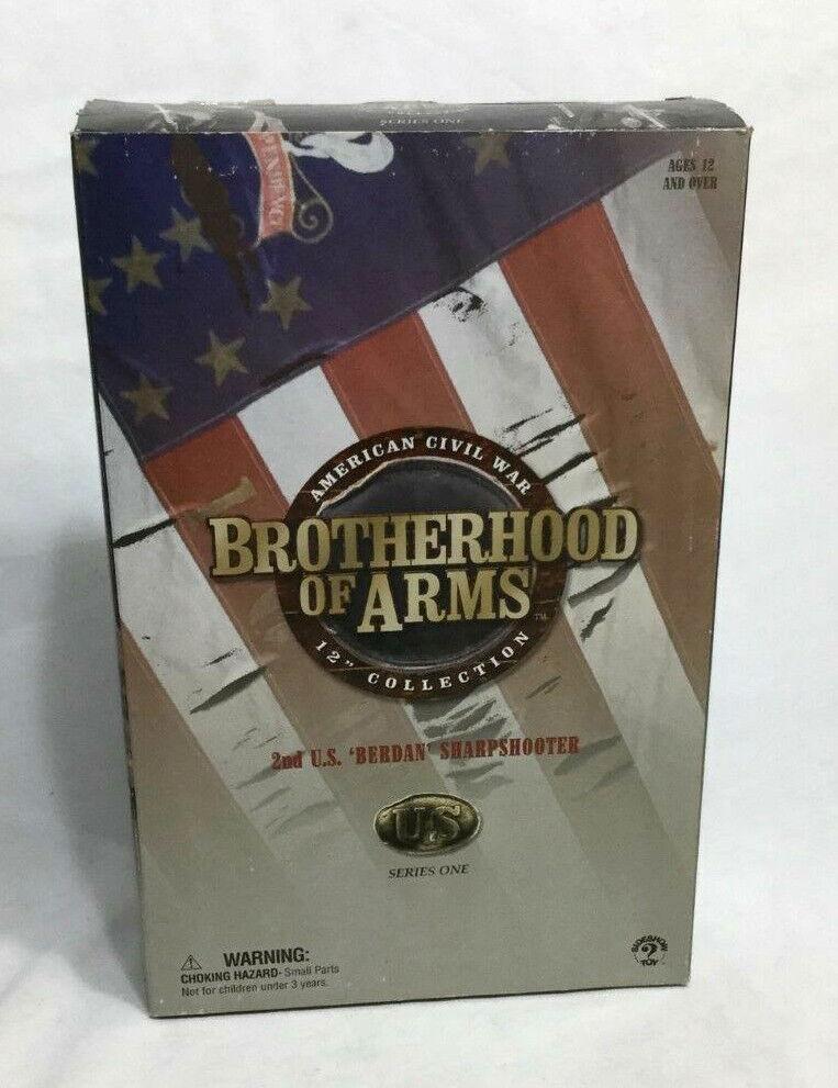 Sideshow Legendary iconos Guerra Civil 2nd US Army Berdan Sharpshooter Figura Muñeca