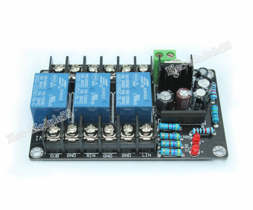 High Power 3-Ch AC 12-15V UPC1237 2.1Channel Speaker Protection Circuit Board