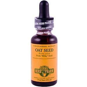 Oat Seed, Herb Pharm, 1 oz FAST SHIPPING 1st Class Mail
