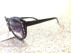 Gafas Mujer Negro Detalles Sol Dasoon 400 Pedrería Y Bonito De Uv Vision pSVUjqzLGM