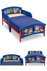 Delta Children Plastic Toddler Bed PAW Patrol Nick Jr