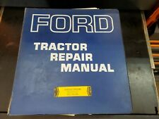 Ford 2000 3000 4000 5000 Series Tractor Service Repair Manual Shop Book