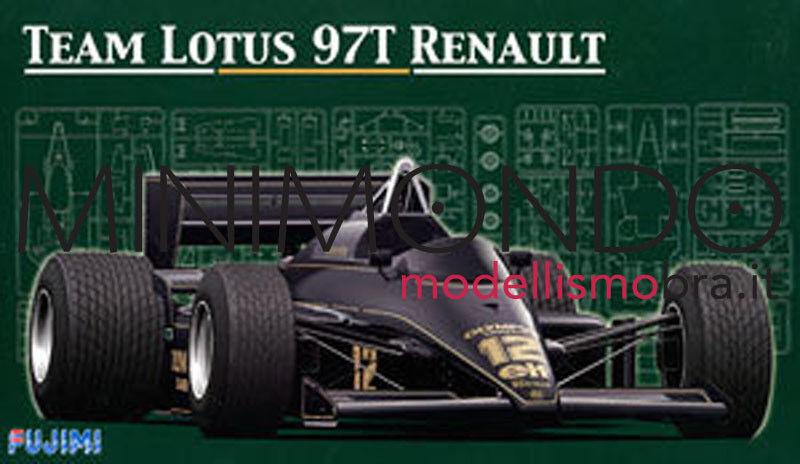KIT LOTUS 97T RENAULT F1 1985 1985 1985 SENNA DE ANGELIS 1/20 FUJIMI GP3 09195 091952   Ingénieux Et Pratique    Matériaux Sélectionnés Avec Soin    France    Aspect élégant  940fb5