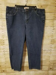 0099a5ed030 JMS Just My Size Stretch Classic Denim 26W Short Dark Wash EUC