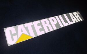 Caterpillar Decals EBay - Truck window decals   how to purchase and get a great value safely