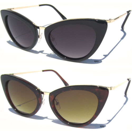 Cat Eye Frame Gradient Lens Sunglasses Vintage Style Retro Women/'s Fashion New