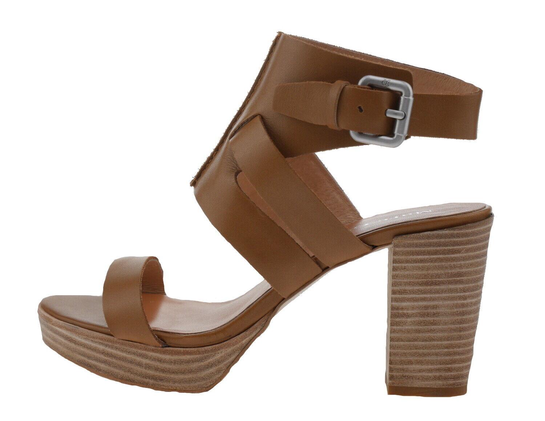 Marc O Polo 60113391302101 Sandalettes Cuir de Veau Cognac 182141