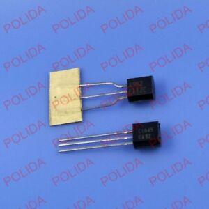 30PCS OR 2SA992//2SC1845 A992//C1845 Transistor NEC TO-92