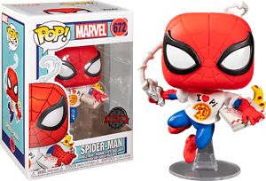 Spider-Man-with-Pizza-Funko-Pop-Vinyl-New-in-Box
