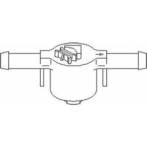 VALVOLA Carburante Filtro-Topran 109 069