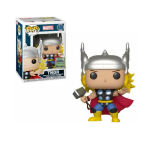 MARVEL CLASSIC THOR ECCC 2019 EXCLUSIVE FUNKO Pop Vinyl Figure