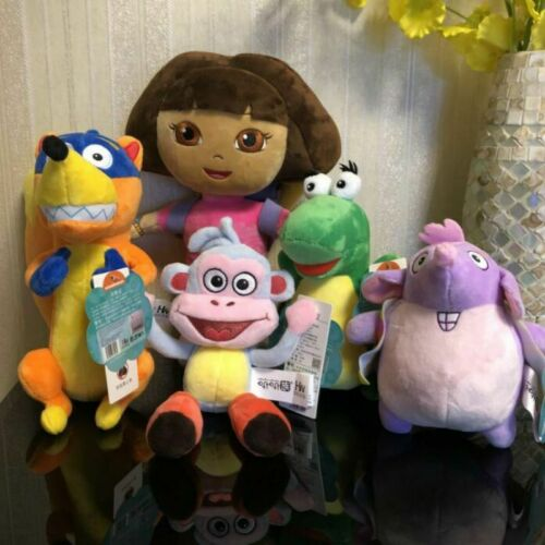 2019 Genuine Dora the Explorer Plush Toy Pre-Kindergarten Toys cute Dora Boots S