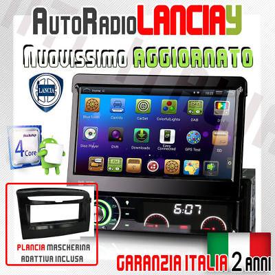 "AUTORADIO NTC Touch 2 Din 7/"" Lancia Musa MP3 DVR SD BLUETOOTH AUX RETROCAMERA"