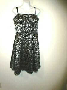 Dress Barn Collection Women S Summer Dress Black Floral Size 12 Ebay