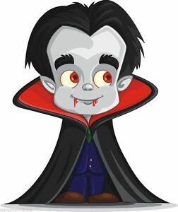 Details About Dracula Scary Cartoon Chraracter Sticker Decal Graphic Vinyl Label