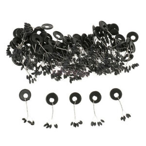 100x Fishing Bobber Stopper Float Line Olive Shape