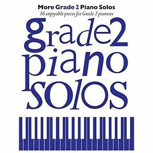 Details about More Grade 2 Piano Solos Music Book Pops Classical Jurassic  Park Largo Wings S52