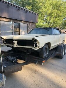 1965 Pontiac convertible for part or restore