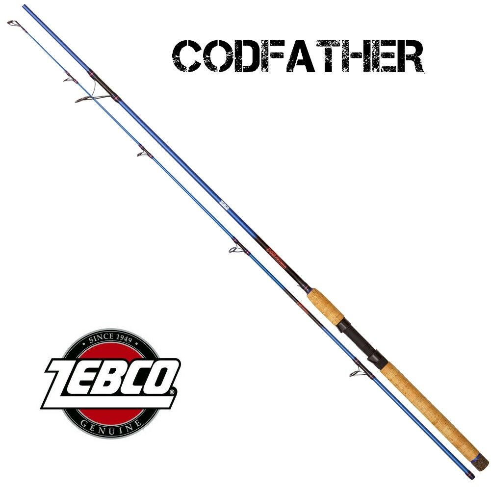 ZEBCO CODFATHER 60-180G Top für  Dorsch und Co.  2,2m - 3,05 m