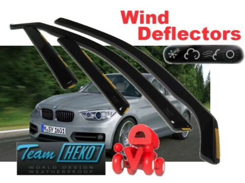 Heko 11159 BMW 1 Series F20 2011-5 puertas de viento desviadores 4.pc Set