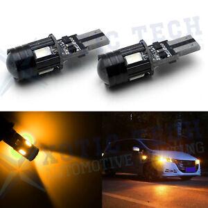 2 PACK T10 LED Error-Free Parker Light//Interior Light//Number Plate Light LED