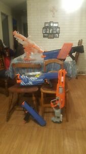 Get Quotations · Nerf Guns And Dart Board