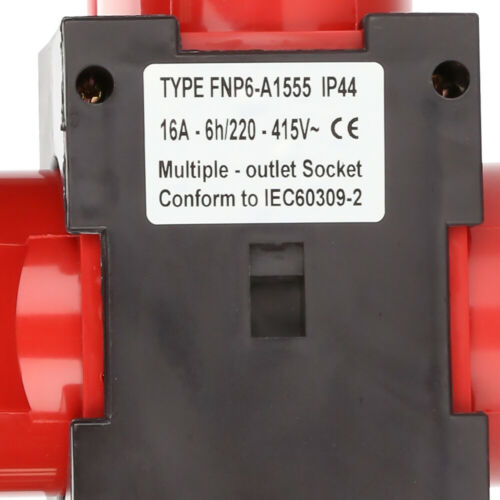 Stromverteiler  Baustromverteiler Adapter  3 x CEE 400V 16A Verteiler CEE IP44