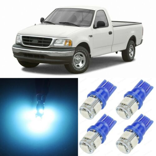 TOOL 14 x ICE BLUE Interior LED Lights Package For 1997-2003 Ford F150 F-150