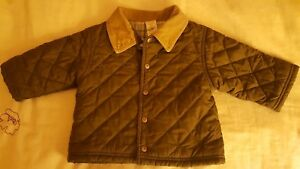 51fae8111 Gymboree Quilted Boys Coat Jacket Size 6-12 Months