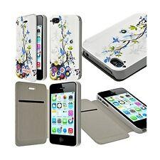 Etui à rabat et porte-carte pour Apple iPhone 4 / 4S motif HF01 + Film de Protec