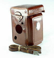 Original Leather Case for Rolleiflex 3.5 F with Strap