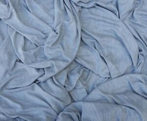 161319ca03e Heather Gray Micro Modal Silk Jersey Knit Fabric by the Yard | eBay