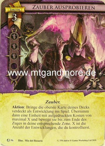 2x magie essayer #096 Warhammer invasion