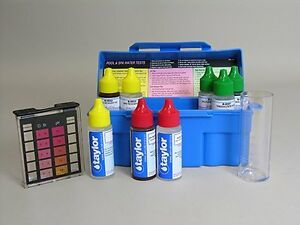 NEW Taylor K-1004 Trouble Shooter Complete Swimming Pool Spa DPD 5 Way Test Kit