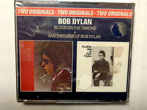 BOB DYLAN  -  BLOOD ON THE TRACKS + ANOTHER SIDE OF BOB DYLAN - 2 CD 1975  NUOVO