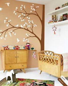 Large tree wall decal Corner tree wall Sticker nursery wall decor ... 91aab4f04