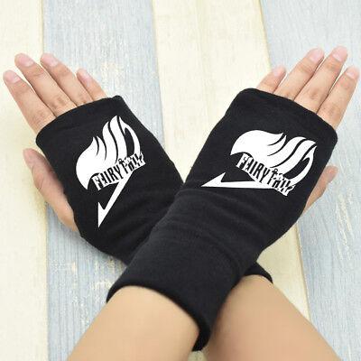 Fate Saber Half Finger Glove Cotton Mitten Anime Cosplay Gift
