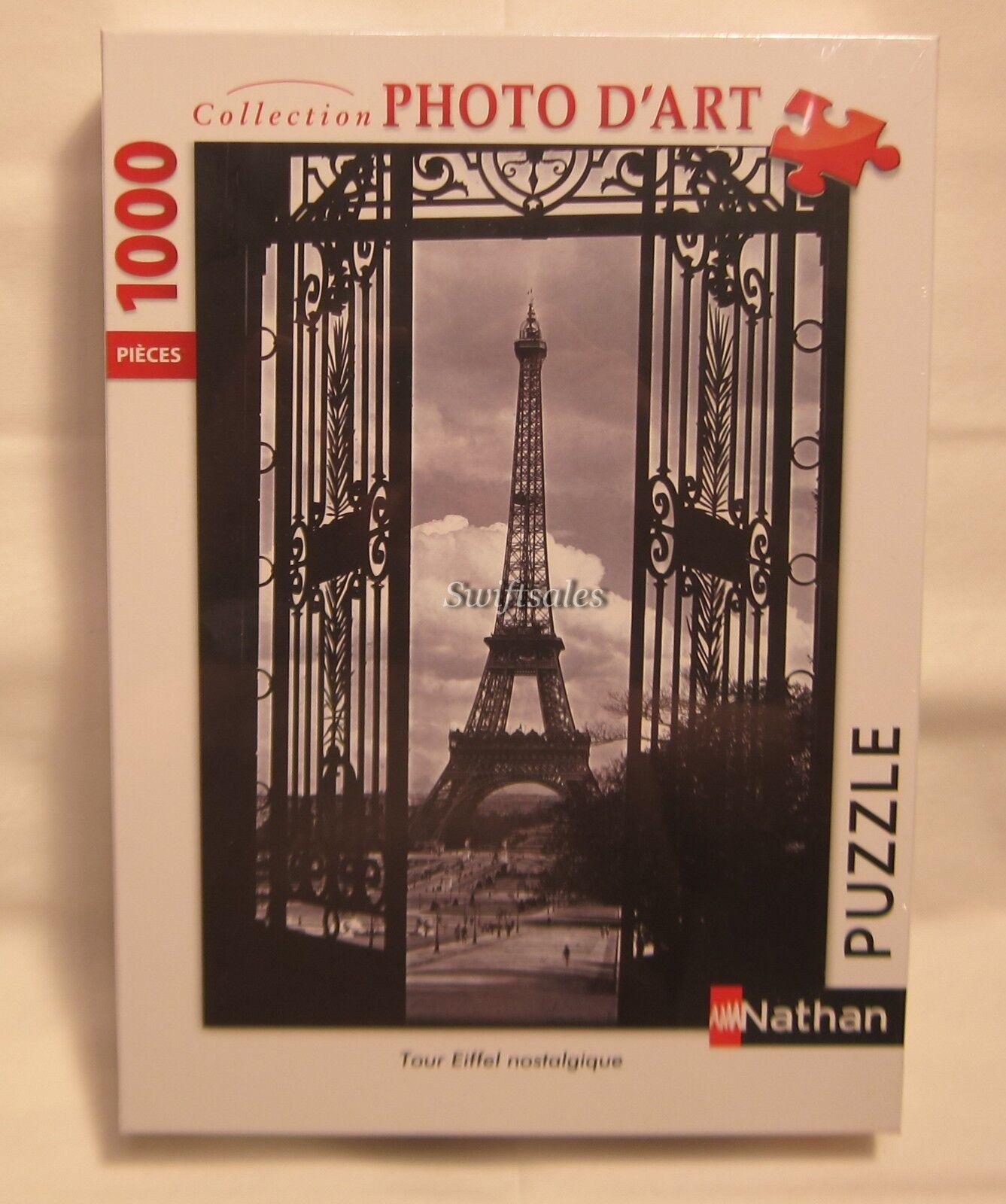 Nathan 87570-Paris Tour Eiffel  1 - 1000 pieces-Navires de USA