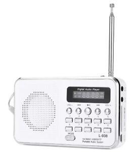 Radio-Portatile-L-938-Digitale-Fm-Lettore-Mp3-Sd-mmc-Tf-Ingrsso-Aux-Linq