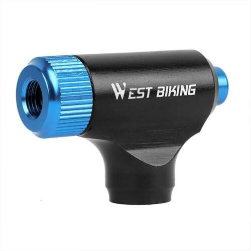 Mini CO2 Inflator Bike Pump Super Fast Tire Inflation Portable Bicycle Air Pump