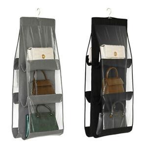 Pocket Shoe Space Door Hanging Organizer Storage Rack Bag Closet Holder 6N